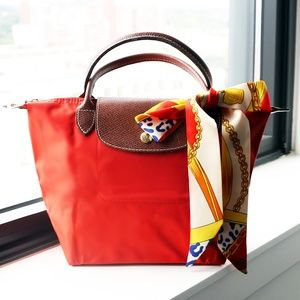 EMILLY 🌹NEW Longchamp Top Handle S Le Pliage🌹